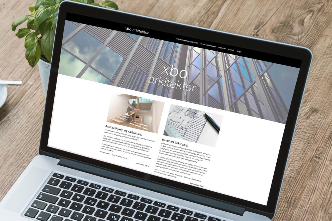 xbo arkitekter hjemmeside